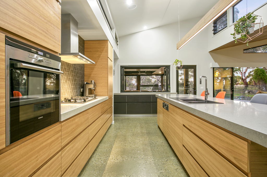 53 Yellow Gum kitchen
